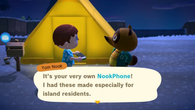 Like much of the world, we took have a love/hate relationship with Tom Nook at this point..