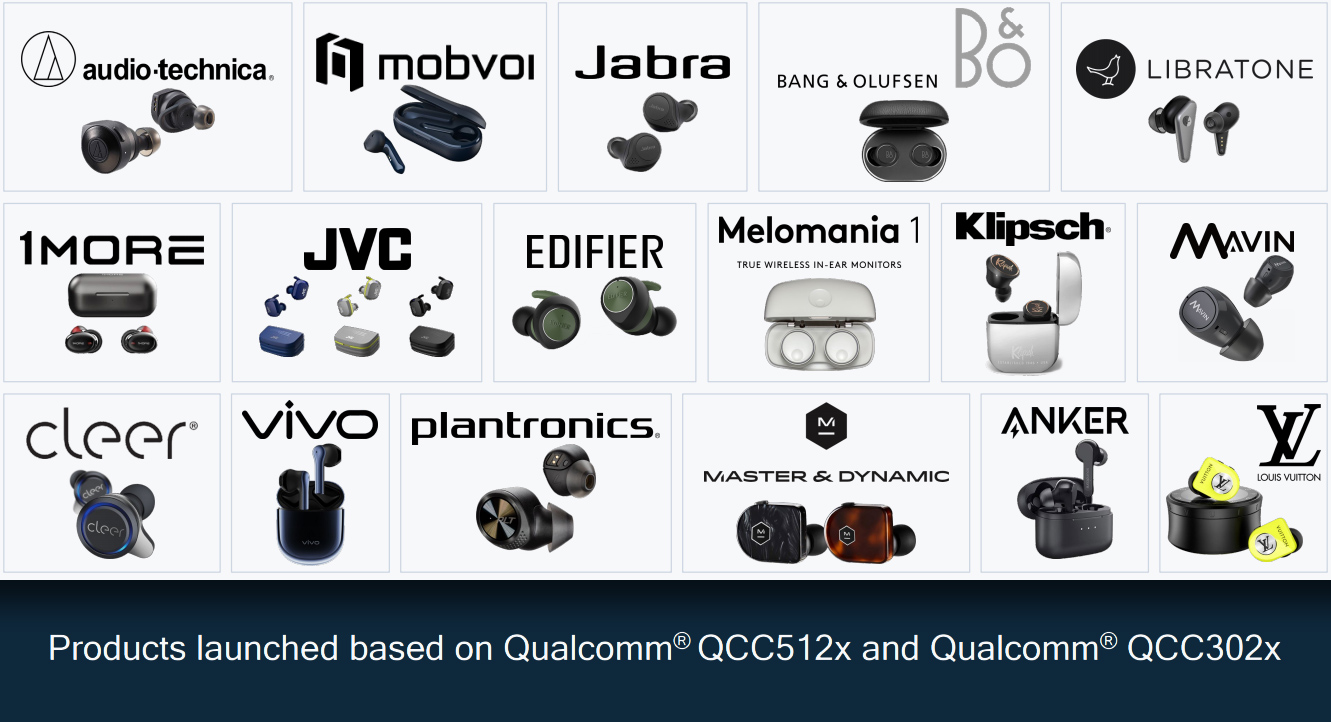 Qualcomm has lots of customers.