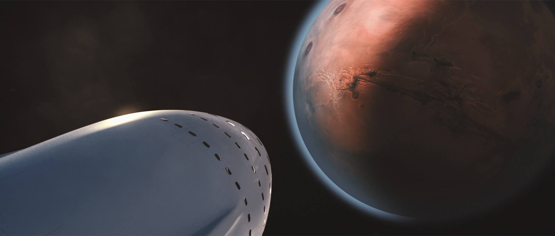 SpaceX will need to send many, many ships to settle Mars.