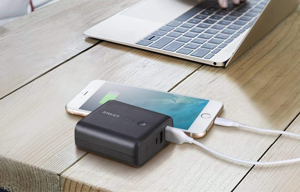 Anker's PowerCore Fusion is part battery pack, part wall charger.