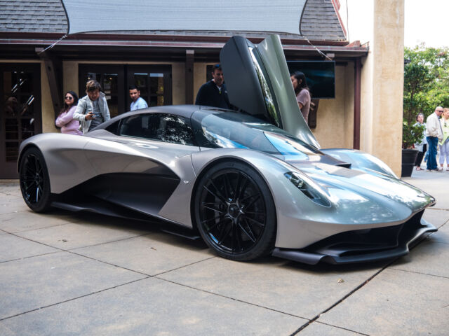 Aston Martin Designs A New V6 For James Bond And The Valhalla Hypercar Ars Technica