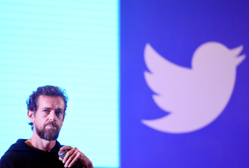 Twitter co-founder and CEO Jack Dorsey at the Indian Institute of Technology (IIT), on November 12, 2018 in New Delhi, India.