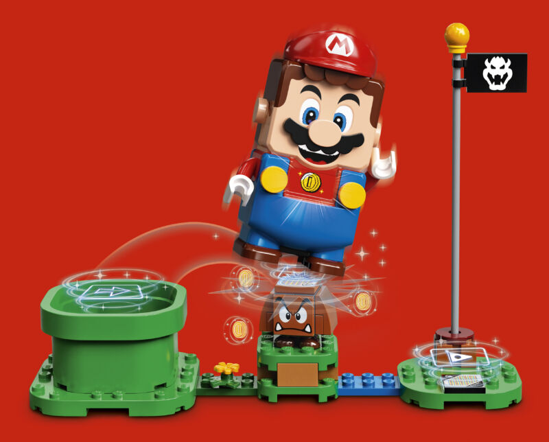 Lego teams up with Nintendo for Super Mario brick-based game