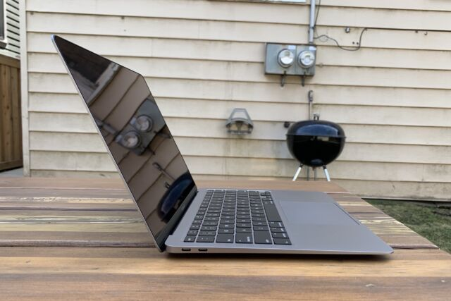 Macbook Air 2020 Review The Most Boring Mac Is Among The Best Ars Technica