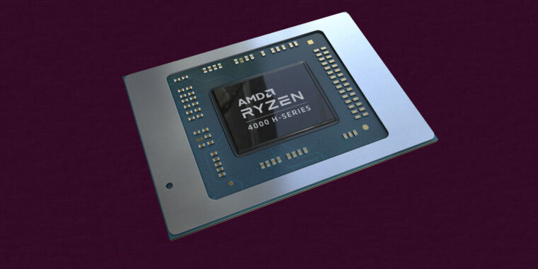 AMD's 7nm Ryzen 4000 laptop processors are finally here