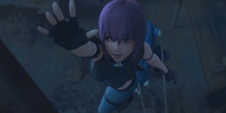 Netflix Releases Final Cg Ghost In The Shell Trailer Ahead Of April 23 Premiere Ars Technica
