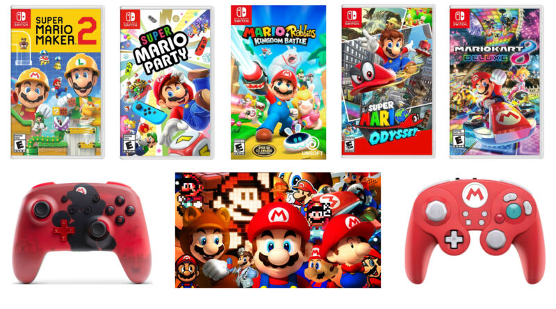 It's MAR10 Day, so here are some deals on Mario games and gear