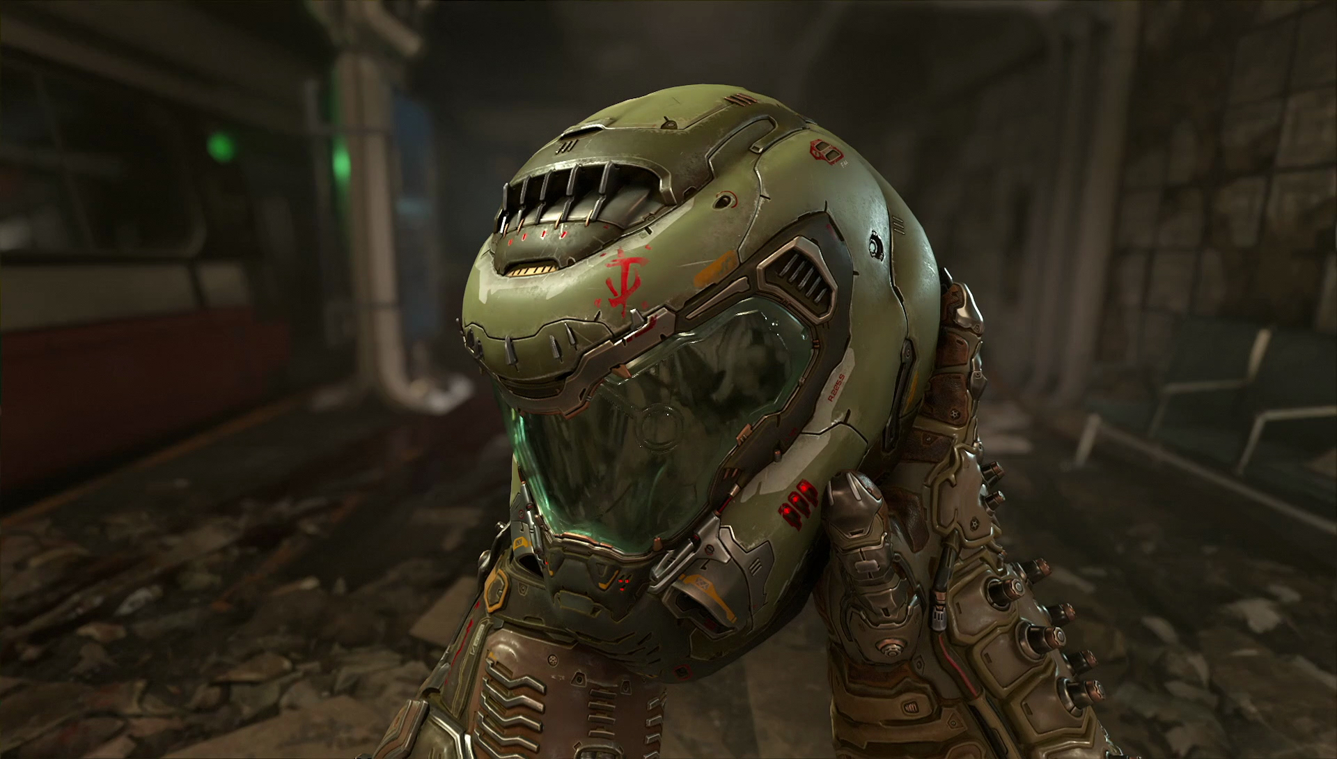 """Is this the Doomguy helmet I see before me..."""
