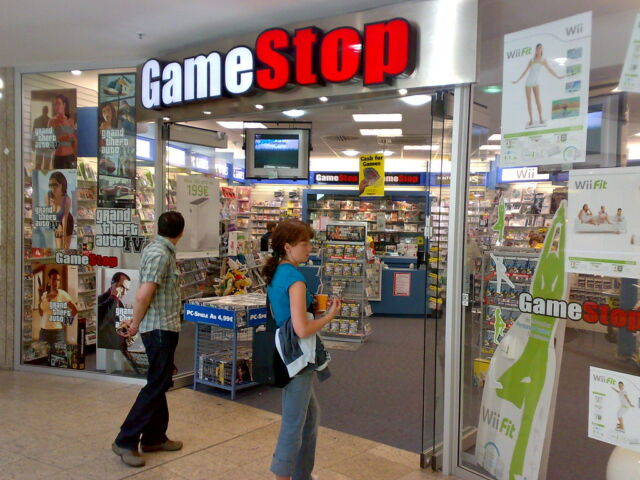 Ah, for the carefree days when you could wander into a GameStop and not worry about keeping six feet from other shoppers…