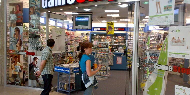 Despite closures, GameStop says it's seeing increased demand amid pandemic
