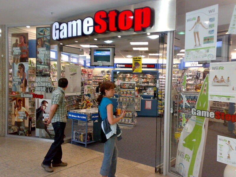 Ah, for the carefree days when you could wander into a GameStop and not worry about keeping six feet from other shoppers...