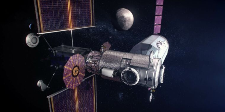 NASA planning to launch an integrated Lunar Gateway in 2023 thumbnail