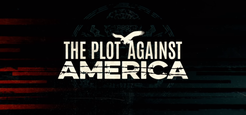 Logo for HBO's adaptation of Philip Roth's The Plot Against America