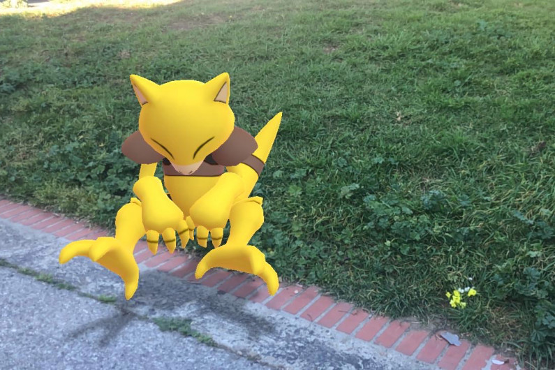 Please practice social distancing by staying at least 6 feet away from this Abra.