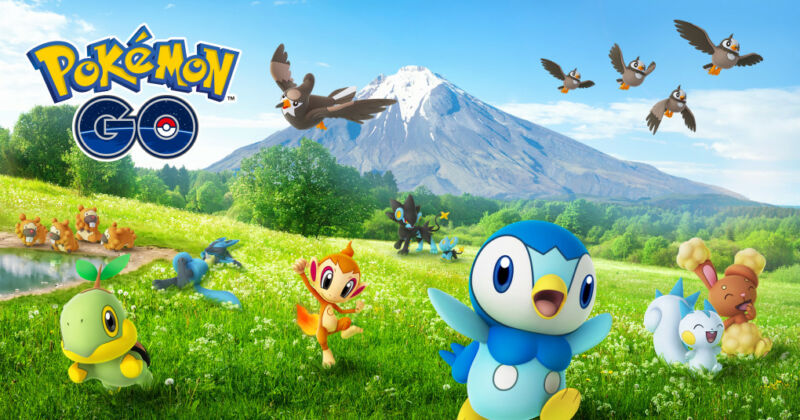 Promotional image for Pokemon Go.