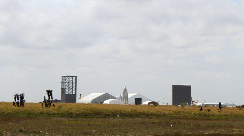 SpaceX has rapidly grown its Starship production facilities over the last six months. Here's a view from the east side in late February.