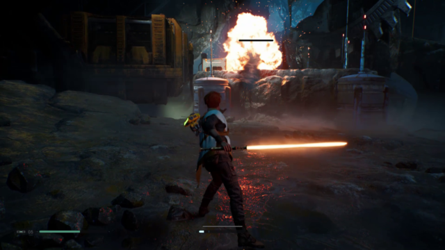"<em>Star Wars Jedi: Fallen Order</em>. Yes, the colon comes after the ""Jedi."""