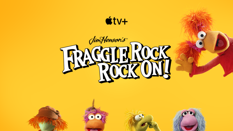 Promotional image for upcoming Fraggle Rock TV show.