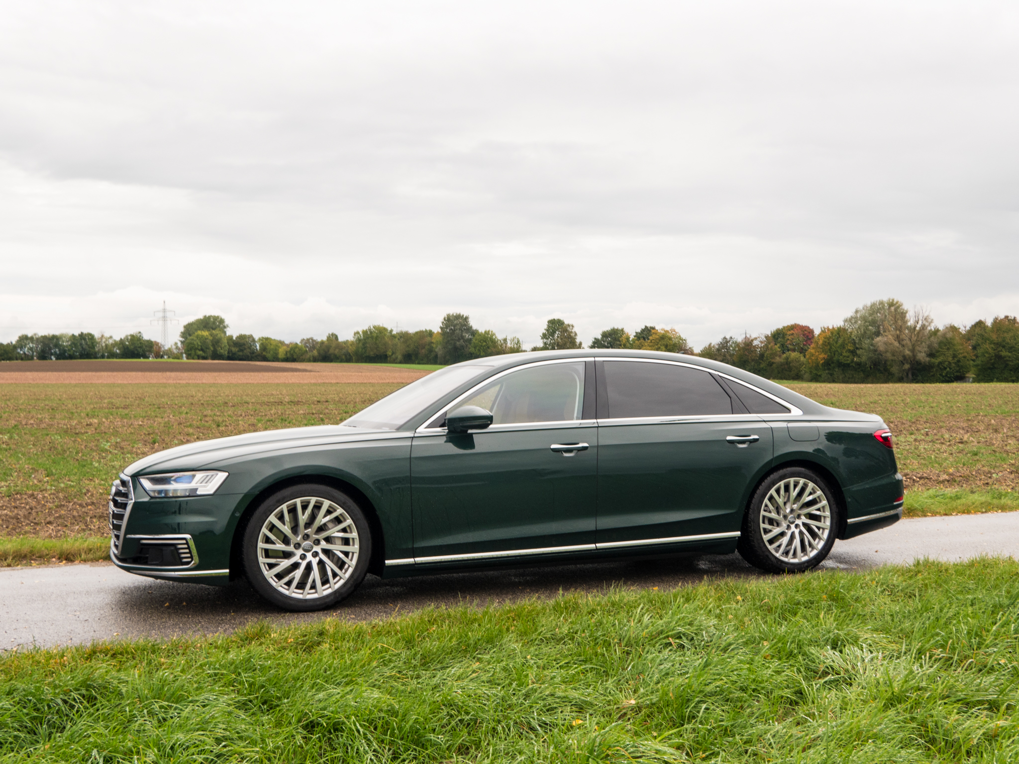 The Audi A8.