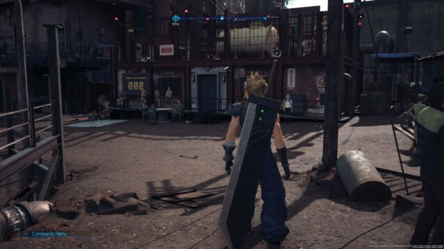 <em>Final Fantasy VII Remake</em>.