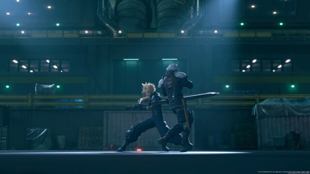 Sometimes, you need a comically large sword to make a point in <em>Final Fantasy VII Remake</em>.