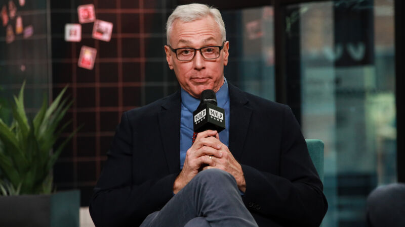 Dr. Drew Pinsky having opinions on March 9, 2020 in New York City.