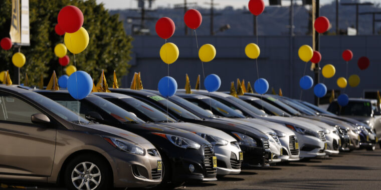 New vehicle sales fell by 40-50 percent in March thanks to COVID-19
