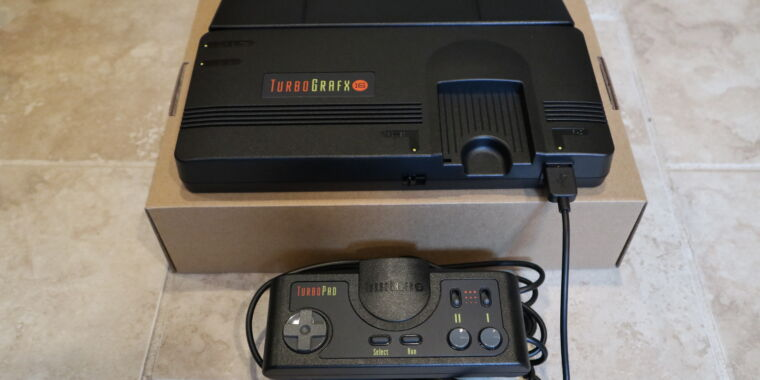 TurboGrafx-16 Mini review: Mostly best-in-class retro gaming, sometimes WTF