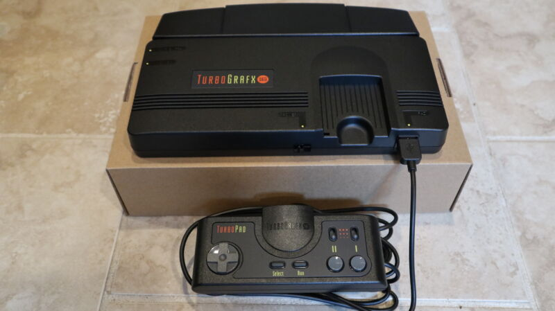 Say hello to the TurboGrafx-16 Mini.