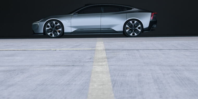 Polestar's newest idea exhibits it thinks in another way about design