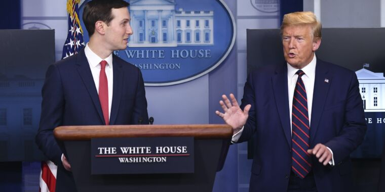 US edits National Stockpile website after Kushner claims it's not for states