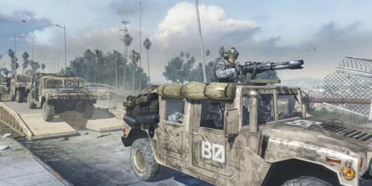 Activision has a First Amendment right to use Humvees in Call of Duty