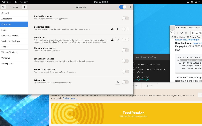 , Linux distro anmeldelse: Fedora Workstation 32