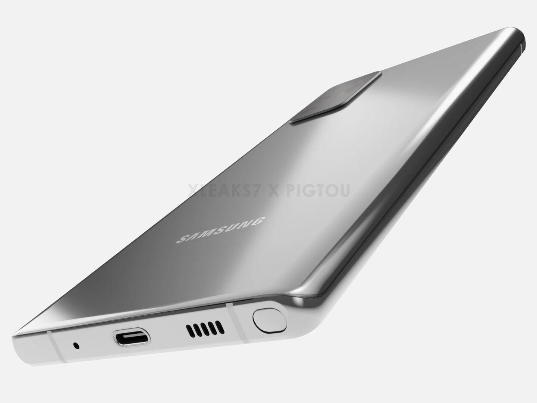 """, Rapport siger Galaxy Note 20 er """"betydeligt større"""" end Note 10"""