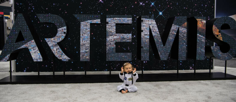 Will this toddler be a pre-teen, teenager, or an adult before humans go back to the Moon?