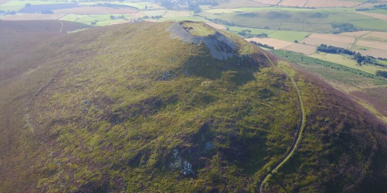 A huge Scottish hillfort is the largest settlement in medieval Britain