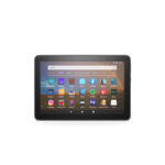The upgraded Fire HD 8 Plus model comes in one exclusive color—Slate—and offers additional RAM, optional wireless charging, and a six-month included subscription to Kindle Unlimited.