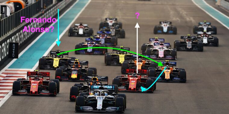 """Musical chairs in Formula 1 as """"silly season"""" turns up the boost"""