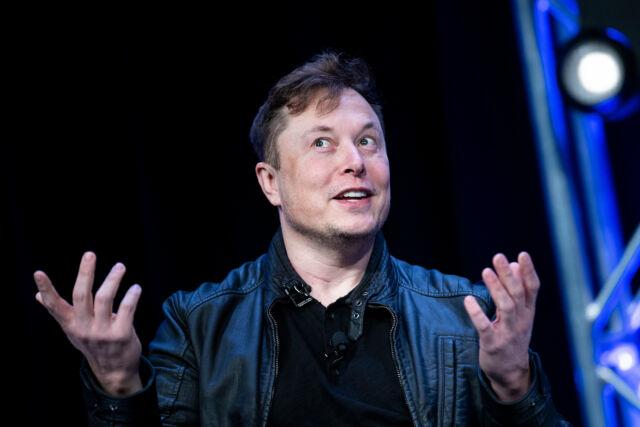 Elon Musk in 2020.