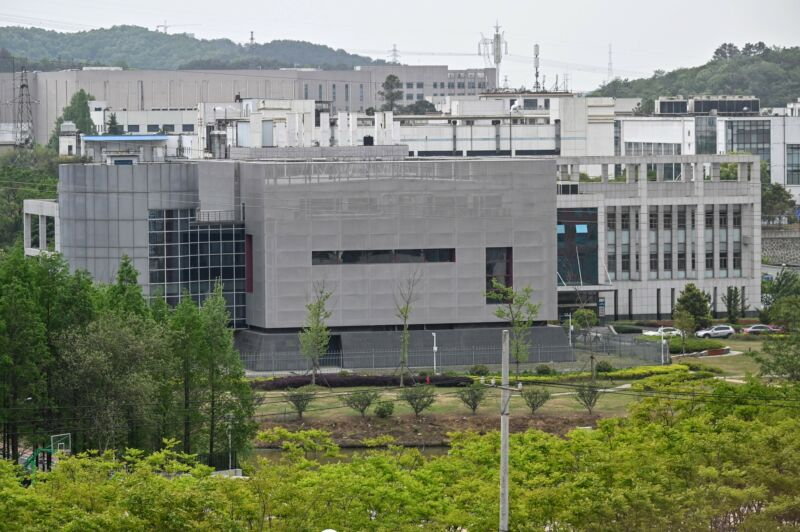 The Wuhan Institute of Virology in Wuhan in China's central Hubei province on April 17, 2020.
