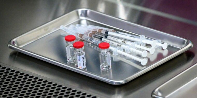 Early tests of vaccine for COVID-19 pass peer...