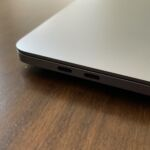 Our review unit had four Thunderbolt ports, but the cheaper models have a woefully inadequate two.