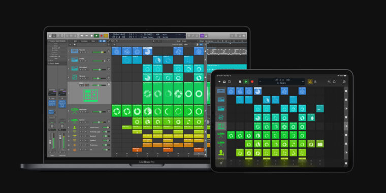 Apple battles Ableton Live with new Logic Pro X 10.5 features