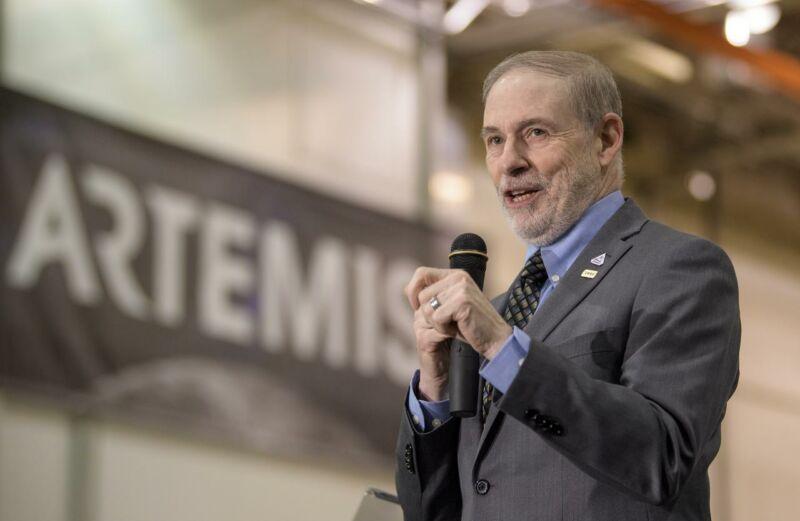 Doug Loverro, formerly NASA's chief of human spaceflight.