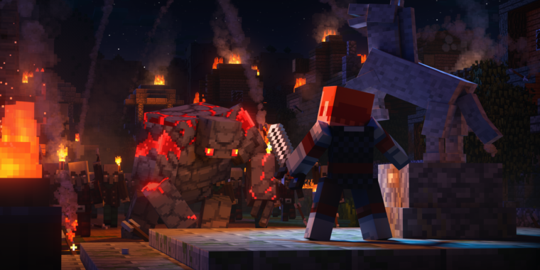 Minecraft Dungeons review: A smashing good Diablo clone for any age thumbnail