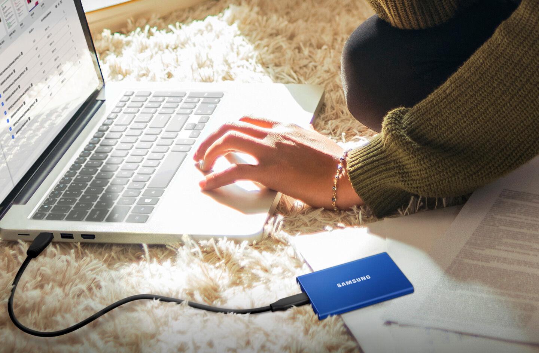, Samsung forbedrer læse / skrive hastigheder i sin biz-kort-størrelse SSD'er med den nye T7
