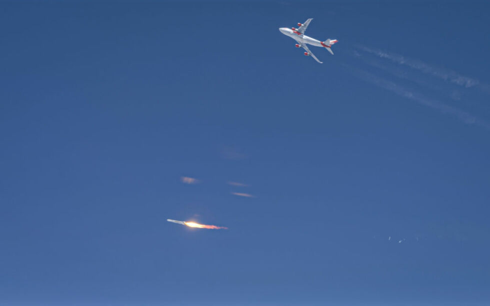 Virgin Orbit loses its first rocket shortly after engine ignition