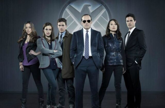 The original team on <em>Agents of S.H.I.E.L.D.</em>