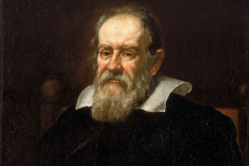 Portrait of Galileo Galilei by Justus Sustermans, circa 1640.
