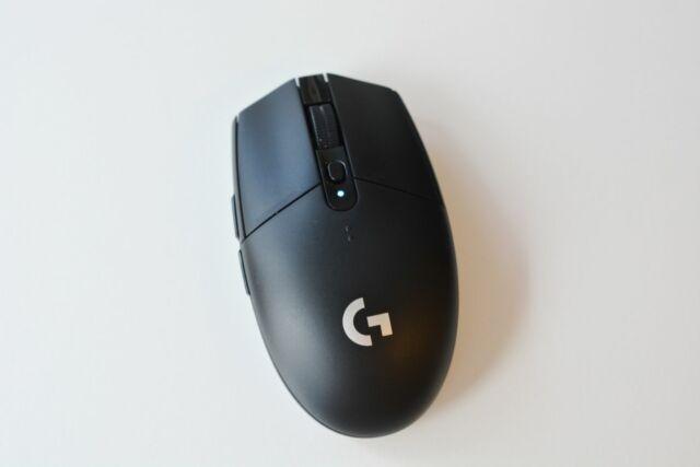 Logitech's G305 Lightspeed wireless gaming mouse.